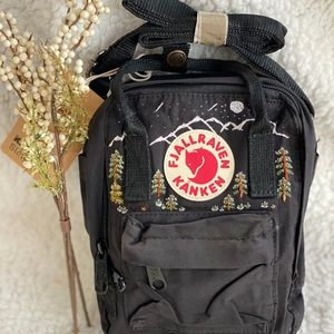 Fjallraven kanken embroidery classi handmade bag